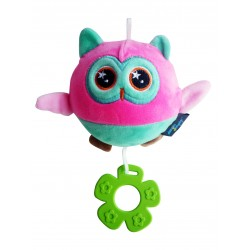 Simple Dimple My 1st Toy - Plush Squishy Toy Owl