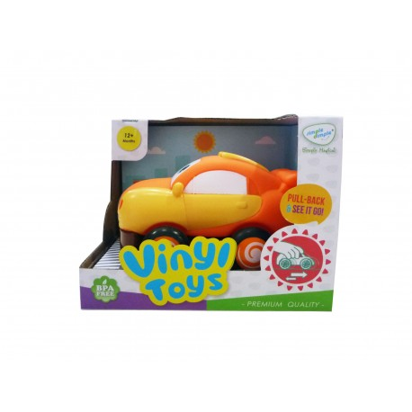 Simple Dimple My 1st Toy - Vinyl Pull Back Toy (1pc Set)