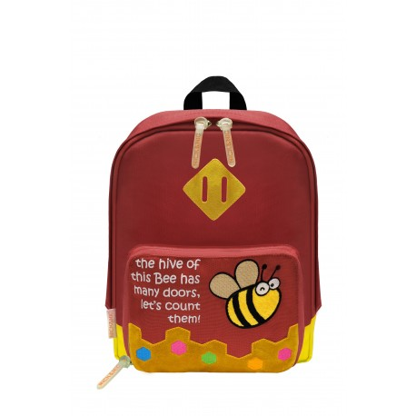 Nick & Nic Foldable Backpack - Ladybird