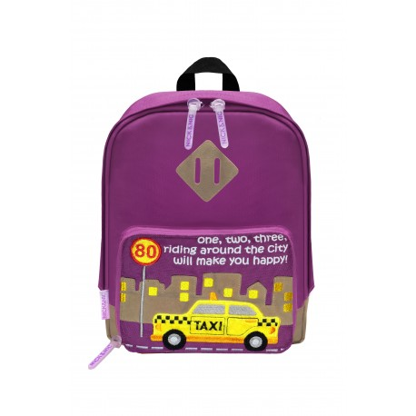 Nick & Nic Foldable Backpack - New York Taxi