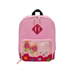 Nick & Nic Foldable Backpack - Butterfly Flamingo Pink
