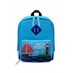 Nick & Nic Foldable Backpack - Sailing Boat