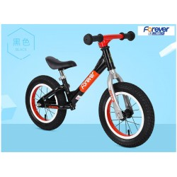 Forever AL 1299 Balance Bike for Children from 2 to 6 FREE Helmet and Protection Guards (Black)