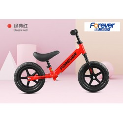 Forever FX68 Balance Bike for Children from 2 to 6 FREE Helmet and Protection Guards (Red)