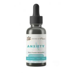 Sound of Flowers Bach Flower Remedies (Cure Negative Emotions Tincture) Anxiety