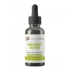 Sound of Flowers Bach Flower Remedies (Cure Negative Emotions Tincture) Weight Issue