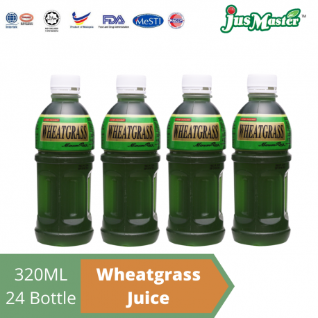 JusMaster Wheatgrass Flavour Drinks (24 x 320ml)