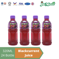 JusMaster Blackcurrant / Anggur Flavour Drinks (24 x 320ml)