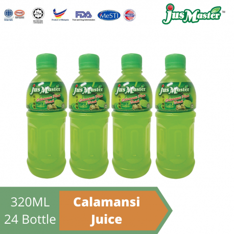 JusMaster Calamansi Plum Flavour Drinks (24 x 320ml)