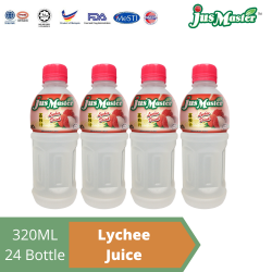 JusMaster Lychee / Laici Flavour Drinks (24 x 320ml)