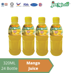 JusMaster Mango Flavour Drinks (24 x 320ml)