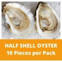 Half Shell Oyster (10 pieces) (800g+/-)