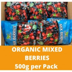 Organic Mix Berries (500g per Pack)