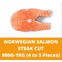 Norwegian Salmon Steak Cut 0.9-1kg (4 to 5 Pieces)