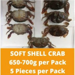 Soft Shell Crab (650-700g/pack)