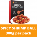 Spicy Shrimp Ball (Frozen Microwave Heated Food) 300g per Pack