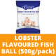 Sungtao Fusipim Lobster Flavored Fish Ball (500g per Pack)