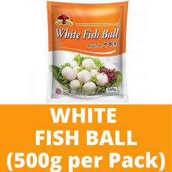 Sungtao Halal White Fish Ball (500g per Pack)