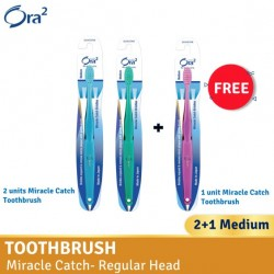 Ora2 me Miracle Catch Toothbrush - Medium (Buy 2 Free 1)