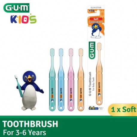 GUM Toothbrush for 3-6 Years