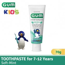 GUM Toothpaste for 7-12 Yrs (Soft Mint)