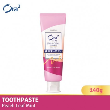 Ora2 me Stain Clear Toothpaste (Peach Leaf Mint)