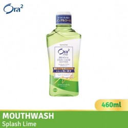 Ora2 me Breath and Stain Clear Mouthwash (Splash Lime)