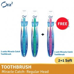 Ora2 me Miracle Catch Toothbrush - Soft (Buy 2 Free 1)