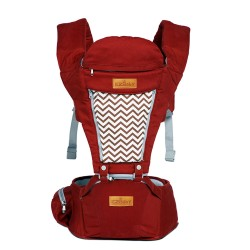 Ez Baby Ergonomic Hipseat Urban Comfort Red