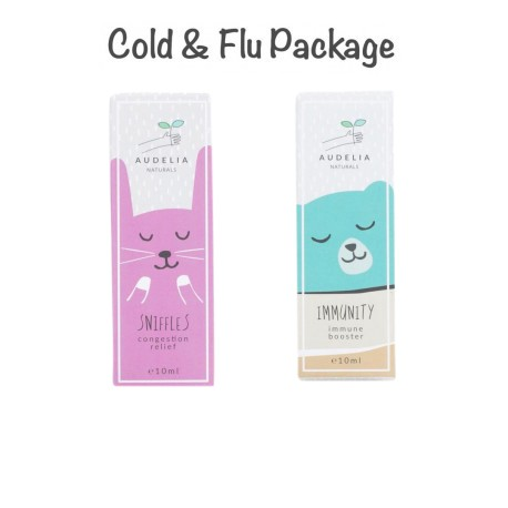 Audelia Naturals Cold & Flu Package