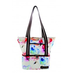 Natural Moms Tote Bag (Pink Flower)