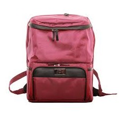 Natural Moms Backpack Bag (Max Maroon)