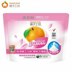 Orange House Deep Cleaning Laundry Powder Refill Beg 1350g