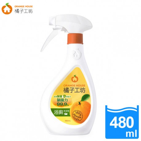 Orange House Natural Anti-Bacteria Bathroom Cleaner 480ml