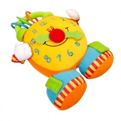 TOLO Baby Soft Activity Clock Toys