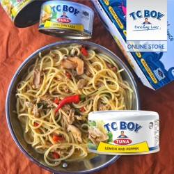 TC Boy Tuna with Lemon & Pepper (150g x 5)