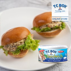 TC Boy Sandwich Delite Tuna in Mayonnaise (150g x 5)
