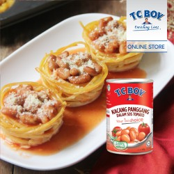 TC Boy Baked Beans In Tomato Sauce (425g x 8)