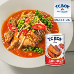 TC Boy Sardines In Tomato Sauce (425g x 6)