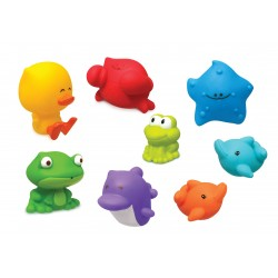 Infantino Sea Chums Squirter Set baby toys