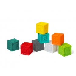 Infantino Squeeze and Stack Blocks Set