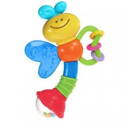 Infantino Rattle and Teether Love Bug