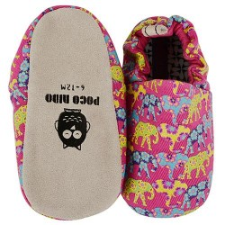 Poco Nido Indian Elephant Mini Shoes