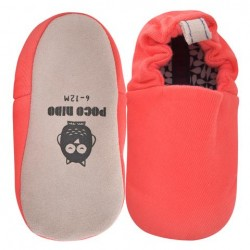Poco Nido Coral Red Mini Shoes