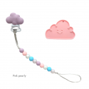 Teether Joy Pink Pearly (Pink Cloud)