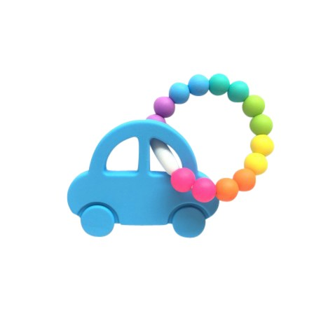 Teether Joy Vibrant Duo 12 - Blue Car Ring