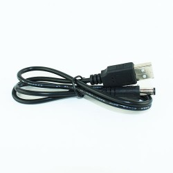 Lacte USB Power Cable 2.1mm (65cm L) - SBB