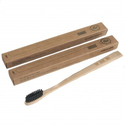 The Olive Tree 2pcs Bamboo Toothbrush Bundle