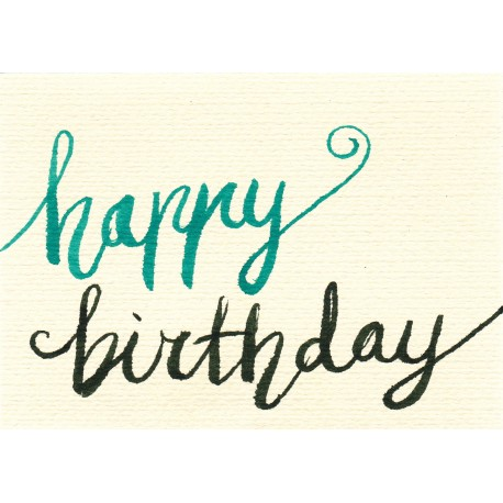 Happy Birthday to you Gift Card