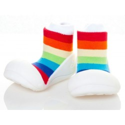 Tinker Toddler Attipas Rainbow (White)
